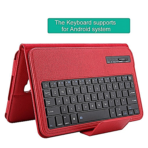 Tablet Keyboard Case Wireless Bluetooth Keyboard Cover For Tab A 10.1 T580