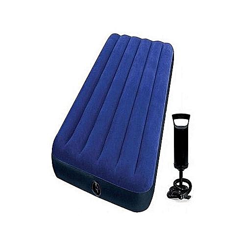 Inflatable Mattress Air Bed + Pump -