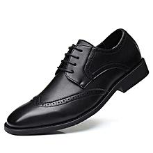 6ab53b74eeb Spring Genuine Leather Men Shoes Classic Men Dress Shoes