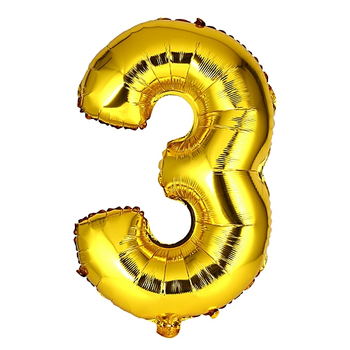 Allwin 40 Inch Number Foil Balloon Digit Air Mylar Ballons Event Party Wedding Decor