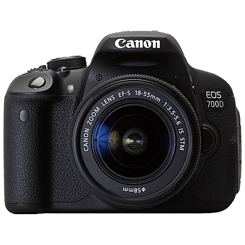 Canon EOS 700D Professional Camera + 18-55mm Zoom Lens - New