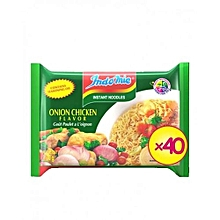 NOODLES - Onion Chicken Flavor - 70g X 40pcs (1 Carton)