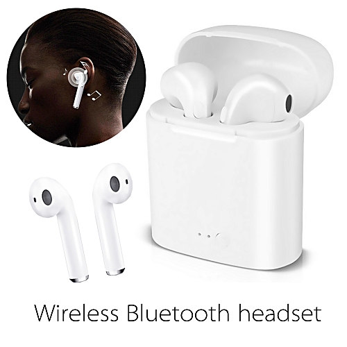 Wireless BT Earbud Headset With Portable Charging Box