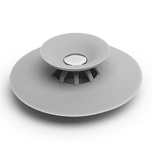 Honana BX-192 Silicone Drain Stopper Hair Catcher 2 In 1 Deodorant Sink Bathtub Floor Drain Protector