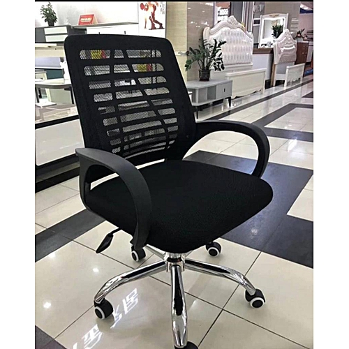 Office Chair, Heavy Duty Comfortable V Shape Medium Back Home Office Work