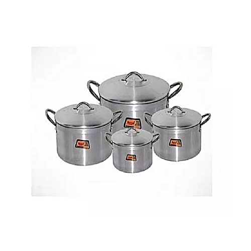 Cooking Pot Set 4pcs-(16,18,20,22cm)Tower Trim