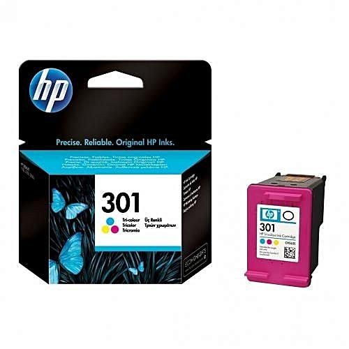 301 Tri-color Ink Cartridge - CH562EE