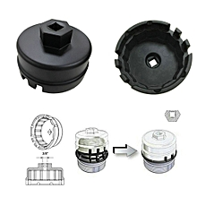 black oil filter wrench for toyota 1 8 liter prius cartridge style housing  caps tools