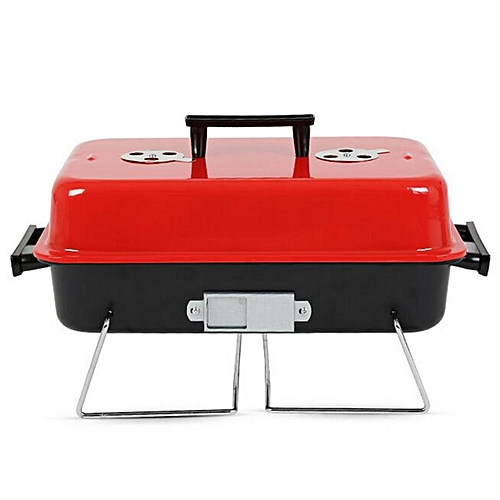 Barbecue Portable Charcoal Grill Small BBQ Stainless Steel Outdoor Cooking Grill