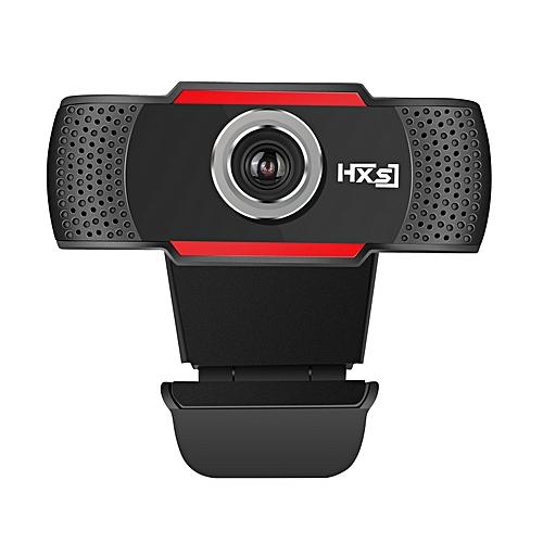 Technologg Webcam HD 720P Megapixels USB 2.0 Webcam Camera With MIC For Computer PC Laptops-Black