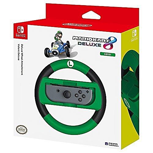 Deluxe Wheel Attachment: Mario Kart 8 Luigi Edition