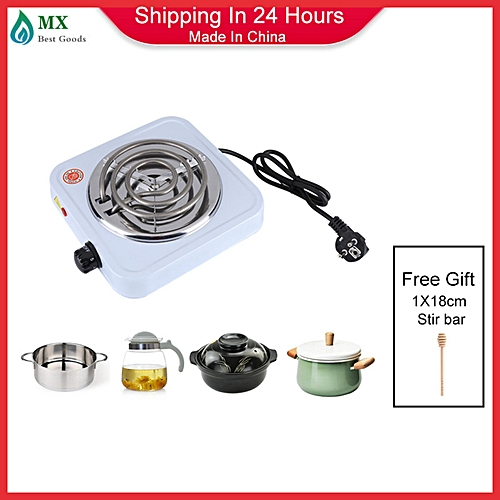 [buy 1 Get 1 Free Gift] 220V 1000W Electric Stove Bur-ner Kitchen Coffee Hea-ter Hotplate Cooking Appliances