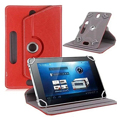 Tablet PC Case Case Durable 7 Inches PU Leather 360 Degrees Rotation Universal Sleeve Cover