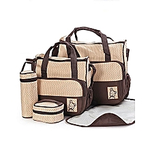 d6a54dd80f0c 5pcs Baby Diaper Bag