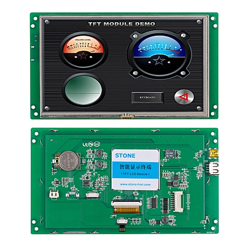 """Embedded 7.0"""" LCD Touch Module With RS232/RS485 Port"""