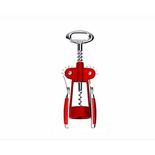 Wine Cork Screw Opener -for Wine Bottles( Silver