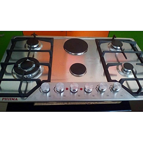 Stainless Steel Gas And Electric Cooker