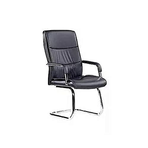 Office Visitor's Chair - Black