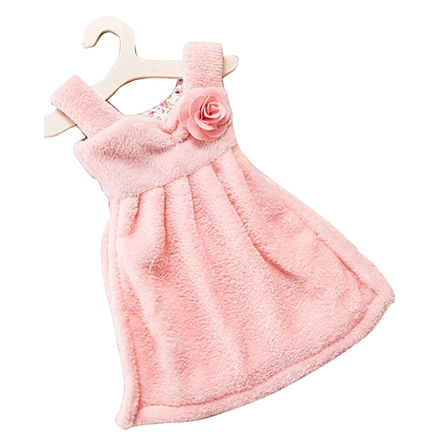 Dress Thick Absorbent Hand Towel -Pink