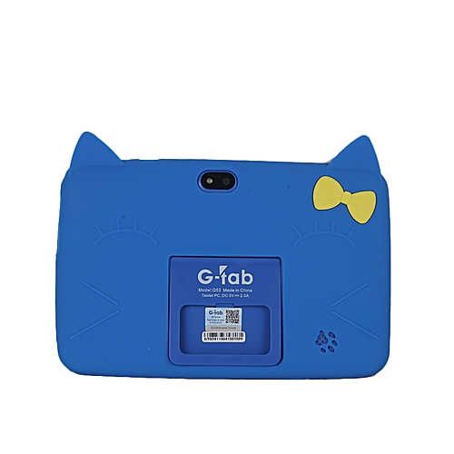 Q53 Educational Kids Tablet -8gb Rom HDD 7'+ Free Cover Blue