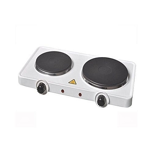Electric Cooker - Hot Plate (Double Burner), 2000W