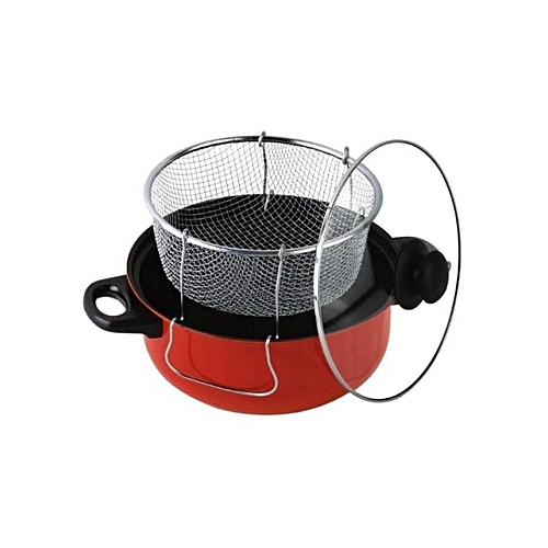 3 In 1 Manual Deep Fryer - Non-Stick