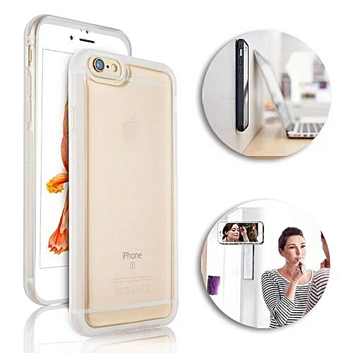 IPhone 5S Case,iPhone 5 Case,iPhone SE Case,iPhone 5C Case,iPhone 5s Clear Case Anti-Gravity Phone Case, Nano Hands-Free Selfie Clear Protective Goat Case Stick To Mirror, Glass, Tile, Smooth Surface For IPhone 5/iPhone 5s/iPhone SE Clear