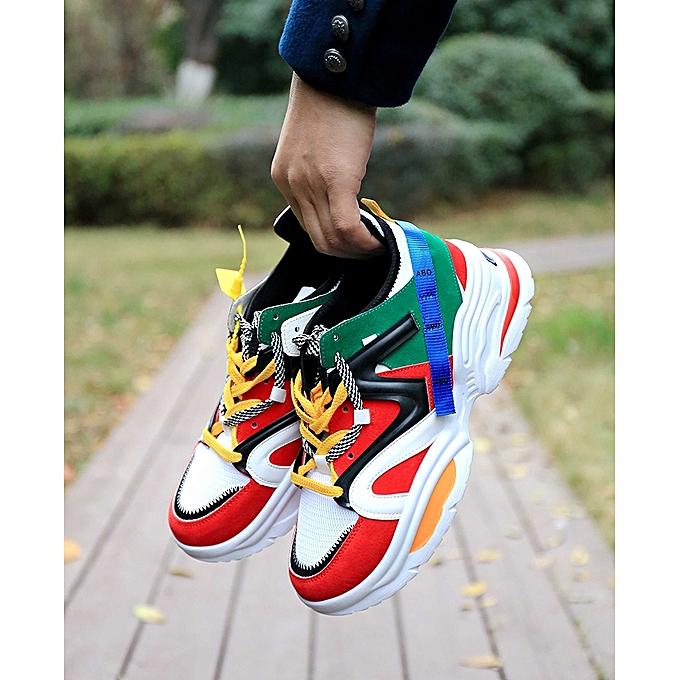 4503f5939d0c Fashion Men s Athletic Shoes   Trainers    Sport Shoes-Multi-Colour ...