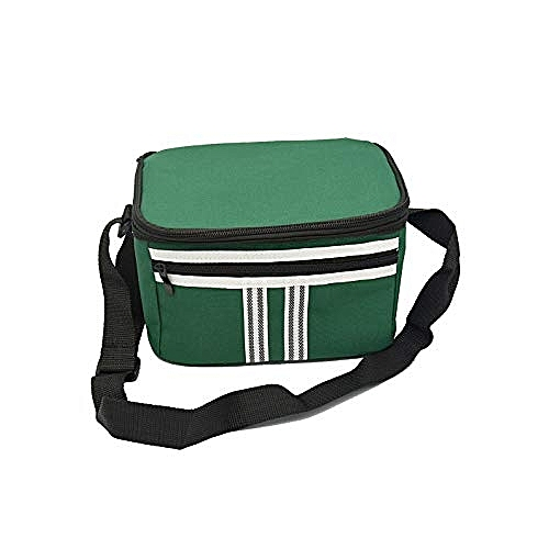 Small Fabric Lunch Bag - Green