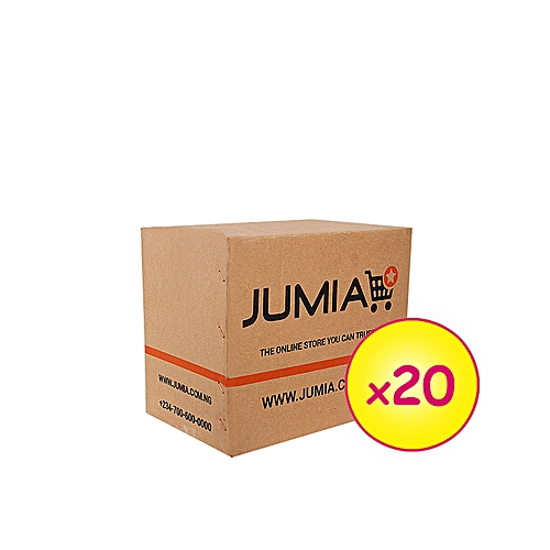 20 Small Branded Cartons (003) (154mm x 153mm x 107mm) [new design]