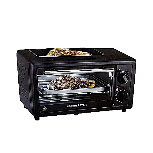 11L Electric Oven With Toaster And Grill