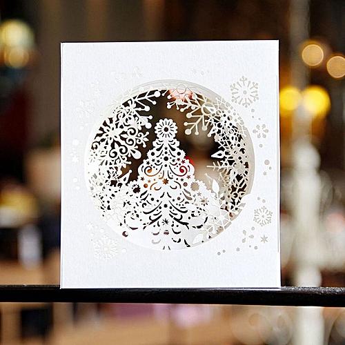 Christnas 3D Pop Up Card Handmade Greeting For Merry