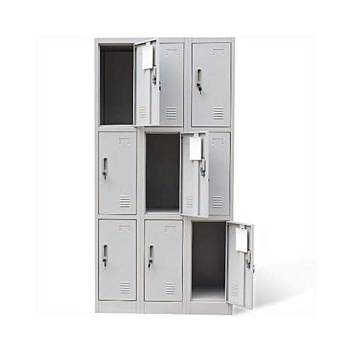9-Door Office Metal Locker