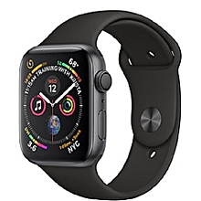 15fbecb7dc7 IWATCH SERIES 4 40MM GPS+CELLULAR SPACE GRAY ALUMIUM CASE BLACK SPORT BAND  NIKE EDITION