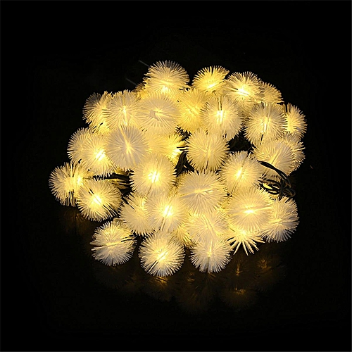 30 LED Solar Power String Light Night Fairy Lamp Party Xmas Outdoor Deco Garden Colorful / Warm White / White