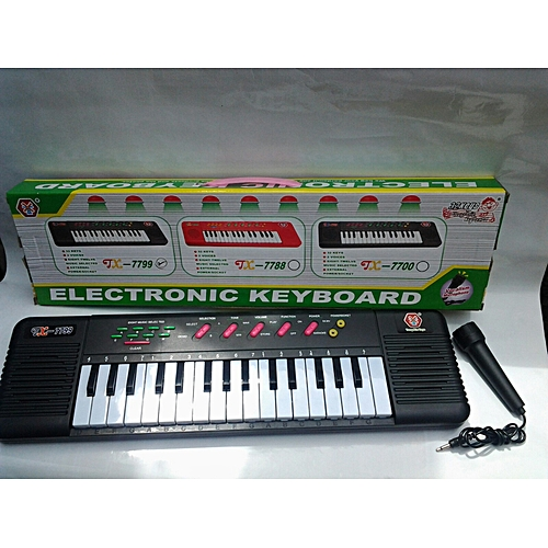 Kids' Play Piano With Microphone