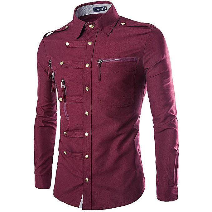 Buy fashion western shirts men long sleeve work shirts men for Where to buy casual dress shirts