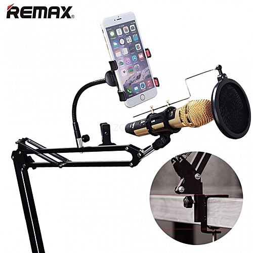 Mobile Recording Studio With POP Filter And Phone Holder