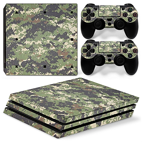 Skin Sticker For Sony PS4 PROConsole Decal Cover Skin Set