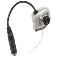 CCTV Camera Pinhole Audio Record With IR Night Vision
