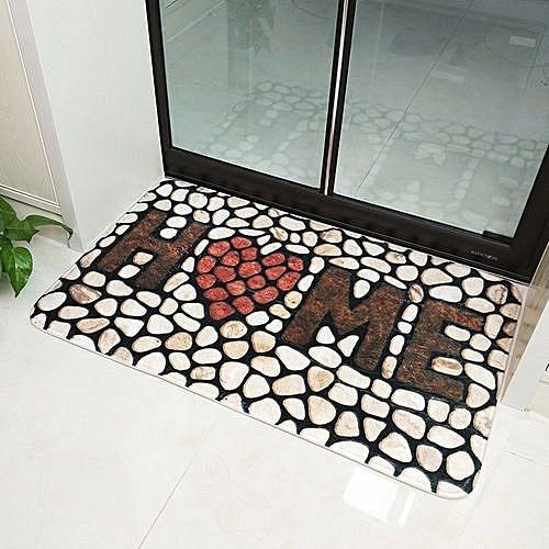 """Doormats Entrance Rug Indoor/Outdoor Super Absorbs Non Slip Door Mat For Small Front Door Inside Floor Dirt Trapper Mats Shoes Scraper Machine Washable 24x15"""" (1pack"""