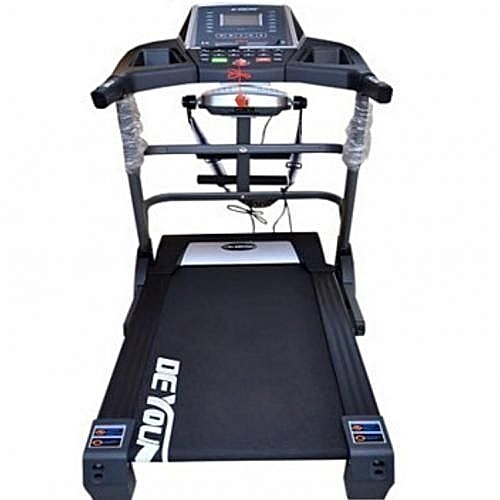 3.5HP Treadmill With MP3, Incline,waist Body Twister,sit Up,dumbells And Massager