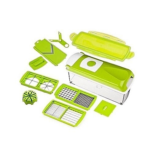 Dicer Multifunctional Fruits And Vegetables Slicer, Chopper And Peeler With CD Included