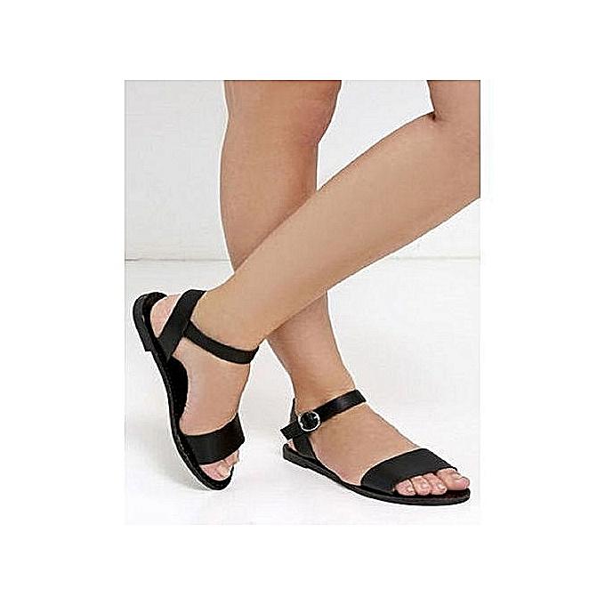 75ab0cca54a6 Fashion Elegant Female Sandals - Black