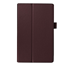 For Lenovo Tab 4 8 Plus Tb-8704x Litchi Leather Case-Brown for sale  Nigeria