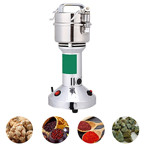 300g 220V 1400W Electric Herb Grain Grinder Cereal Mill Flour Powder Machine