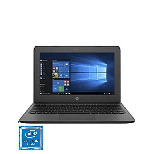 Stream 11 Pro G4 EE Intel Celeron N3450 (4GB RAM, 64GB) 11.6-Inch Diagonal HPD Touchscreen Windows 10 Laptop - Black (1 Unit Per Customer)