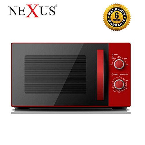 20L Microwave Oven - Red