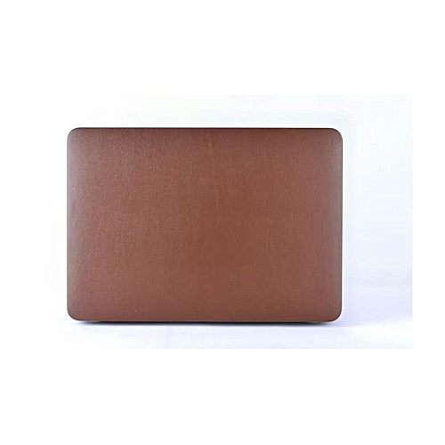 Surface Leather Stick Skin Laptop Bag/sleeve Shell Hard Cover Macbook Air 11 13 Pro 13 Retina 12 13 Brown