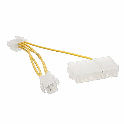 ATX PSU 20Pin+CPU 4Pin To EXP GDC 8Pin Power Supply Adapter Converter Cable